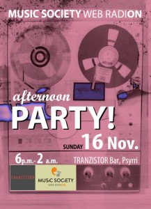 party-tranzistor
